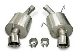 Corsa Performance - Corsa Sport Axle-Back Exhaust System - Dual Rear Exit