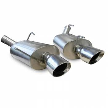 Corsa Performance - Corsa Xtreme Axle-Back Exhaust System - Dual Rear Exit