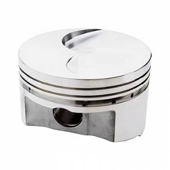 Sportsman Racing Products - SRP BB Ford Flat Top Piston Set 4.390 Bore -3cc