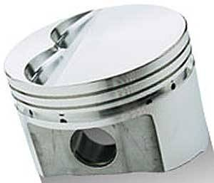 Sportsman Racing Products - SRP SB Chrysler 340 Flat Top Piston Set 4.070 Bore -5cc