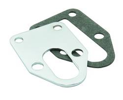 Mr. Gasket - Mr. Gasket Fuel Pump Mounting Plate - Chrome Plated