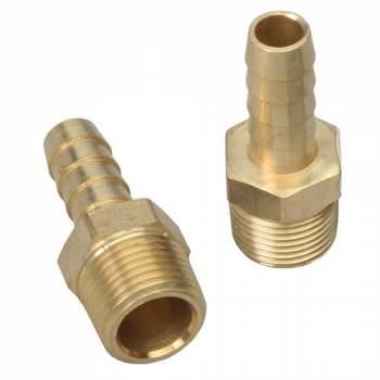 Trans-Dapt Performance - Trans-Dapt Brass Fuel Fitting - Straight