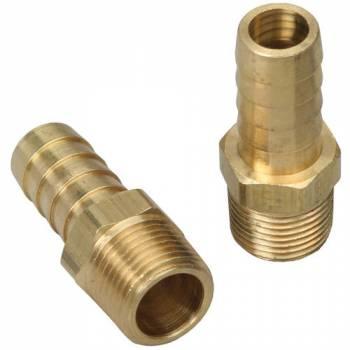 Trans-Dapt Performance - Trans-Dapt Brass Fuel Fitting - Straight