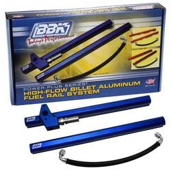 BBK Performance - BBK Performance High-Flow Fuel Rail Kit - Includes Hardware