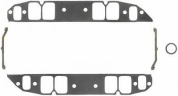 "Fel-Pro Performance Gaskets - Fel-Pro BB Chevy Intake Gaskets Rectangular Port 1.82"" x 2.54"