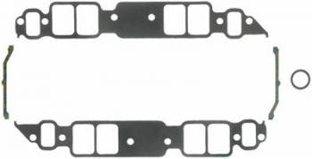 "Fel-Pro Performance Gaskets - Fel-Pro BB Chevy Intake Gaskets Rectangular Port 1.82"" x 2.54i"