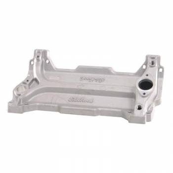 Edelbrock - Edelbrock Spider Valley Plate - Use w/ 18 Degree Cylinder Heads On SB ChevyStandard Deck Blocks