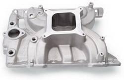 Edelbrock - Edelbrock Torker II Pontiac Intake Manifold - Cast