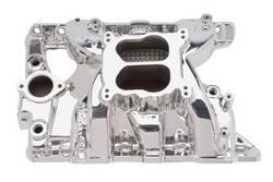 Edelbrock - Edelbrock Performer RPM Pontiac Intake Manifold - Endurashine