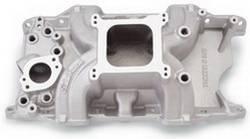 Edelbrock - Edelbrock Torker II 340/360 Intake Manifold - Cast