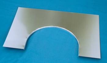 Chassis Engineering - Chassis Engineering .040 Aluminum Flange Kit for Firewall