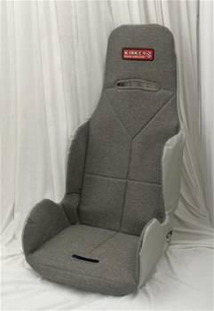 "Kirkey Racing Fabrication - Kirkey Economy Drag Seat Cover - Grey Cloth - 17"""