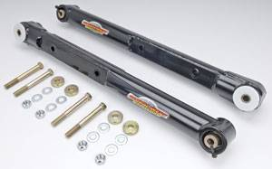 Global West - Global West Rear Lower Tubular Control Arms w/ Del-A-Lum Bushing & Spherical Bearings - GM - 1964-72 Chevelle, El Camino