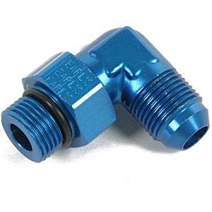 Earl's Performance Products - Earl's #6 Male to 12mm x 1.25 90° Adapter