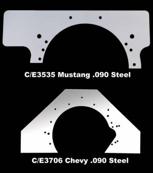 Chassis Engineering - Chassis Engineering Small Block Mopar Steel Mid-Plate