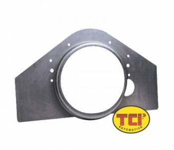 TCI Automotive - TCI Mid-mount Plate w/ Integral Flexplate Shield