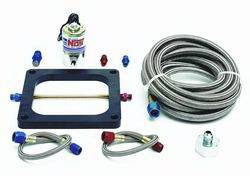 Nitrous Oxide Systems (NOS) - NOS Big Shot Single Stage Upgrade Kit - Converts Single Dominator Cheater Kit -