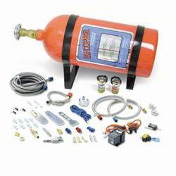 Nitrous Oxide Systems (NOS) - NOS Sniper Wet Kit Nitrous System - 75-100-125 HP