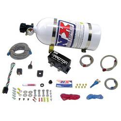 Nitrous Express - Nitrous Express Proton Plus EFI Nitrous System w/ 10 lb. Bottle and Brackets