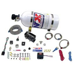 Nitrous Express - Nitrous Express Proton EFI Fly By Wire Nitrous System w/ 10 lb. Bottle and Brackets