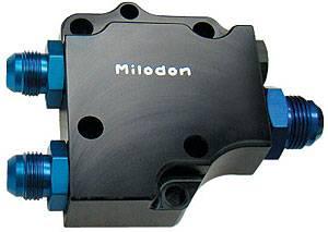 Milodon - Milodon Hemi Remote Pump Cover