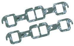 Mr. Gasket - Mr. Gasket Ultra Seal Exhaust Gasket Set - Port Dimensions: Width: 1.55 in. x Height: 1.92 in.