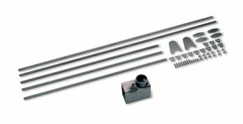 Chassis Engineering - Chassis Engineering Round Tube Parachute Single Pack Mount Kit (Unwelded)