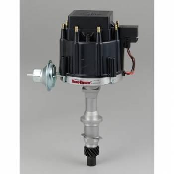 PerTronix Performance Products - PerTronix Pontiac V8 HEI Distributor w/ Black Cap