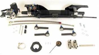 Unisteer Performance - Unisteer Late 1967 - 1970 Power Mustang Rack and Pinion for Small Blocks