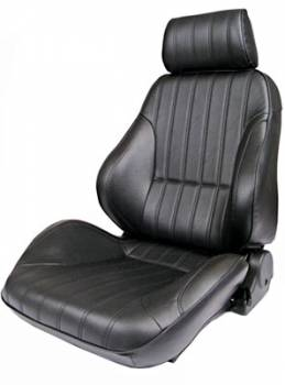 Procar by Scat - ProCar Rally 1000 Seat - Bolstered - Reclining - Right Side - Vinyl - Black