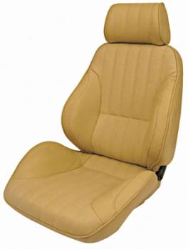 Procar by Scat - ProCar Rally 1000 Seat - Bolstered - Reclining - Right Side - Vinyl - Beige