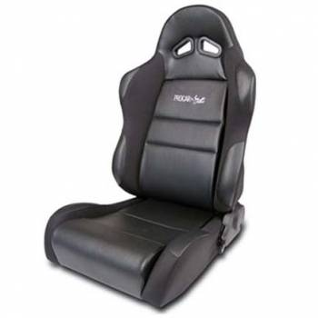 Procar by Scat - ProCar Sportsman Racing Seat - Left Side - Black Vinyl Inside - Black Velour Wings and Bolsters