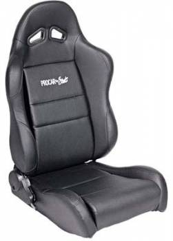 Procar by Scat - ProCar Sportsman Racing Seat - Left Side - Black Synthetic Leather
