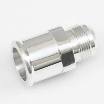 Meziere Enterprises - Meziere -16 AN Male to 1-1/2 Hose Adapter - Polished