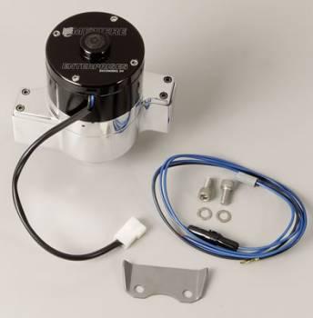 Meziere Enterprises - Meziere Hi-Flow Electric Water Pump - Polished