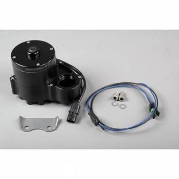 Meziere Enterprises - Meziere Inline Remote High Flow Electric Water Pump - Black