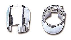 Russell Performance Products - Russell #6 Tube Seal Hose End Chrome