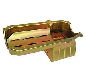 Milodon - Milodon Oil Pan - SB Chevy 6 Qt. RH Dipstick
