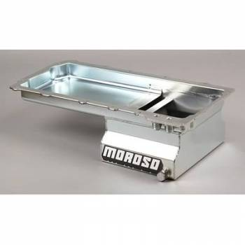 Moroso Performance Products - Moroso GM LS1/LS6 Steel Oil Pan - 7 Qt.