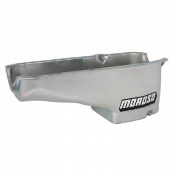 Moroso Performance Products - Moroso SB Chevy Oil Pan - Passenger Dipstick