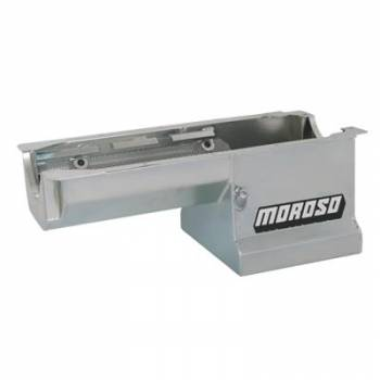 Moroso Performance Products - Moroso SB Chevy Street/Strip Oil Pan Fits Rocket Block