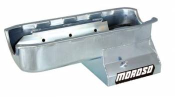 Moroso Performance Products - Moroso SB Chevy Steel Oil Pan - 7 Qt. w/ Windage Tray