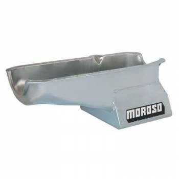 Moroso Performance Products - Moroso SB Chevy Oil Pan - Kicked Out Sump 80-85