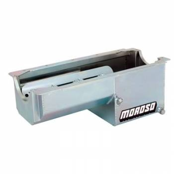 Moroso Performance Products - Moroso SB Chevy Steel Oil Pan - 7 Qt. for Dart/Rocket Block