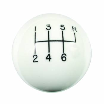 Hurst Shifters - Hurst Classic Shift Knob - 6 Speed Pattern w/ 16mm x 1.50 Threads