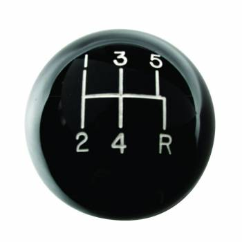 Hurst Shifters - Hurst Mustang 5-Speed Classic Shift Knob - Black