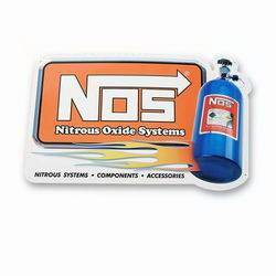 Nitrous Oxide Systems (NOS) - NOS NOS Metal Sign
