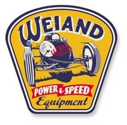 Weiand - Weiand Metal Power / Speed Sign