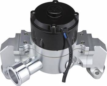 CVR Performance Products - CVR Performance SB Chevy Billet Aluminum Electric Water Pump Clear