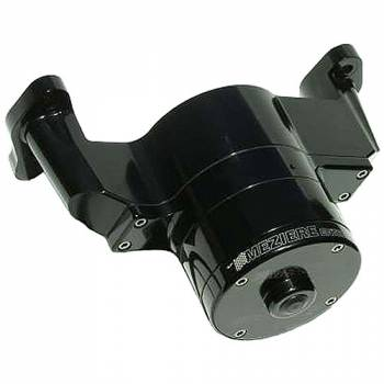 Meziere Enterprises - Meziere SB Chevy Billet Electric Water Pump - Black
